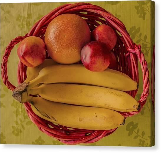 Fruits Canvas Print by John Nasir