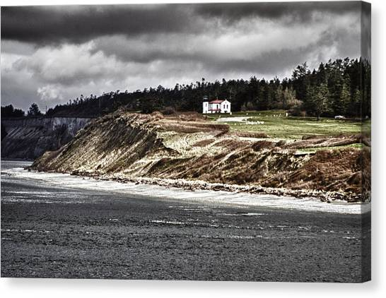 Ft Casey Lighthouse Canvas Print
