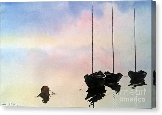 Fundy Morning Canvas Print by Don F  Bradford