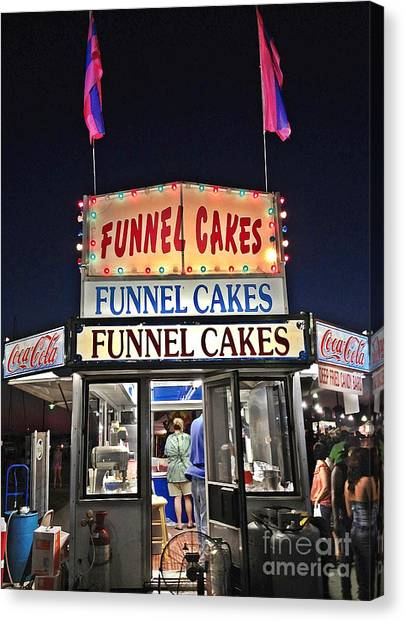 Funnel Cakes Canvas Print