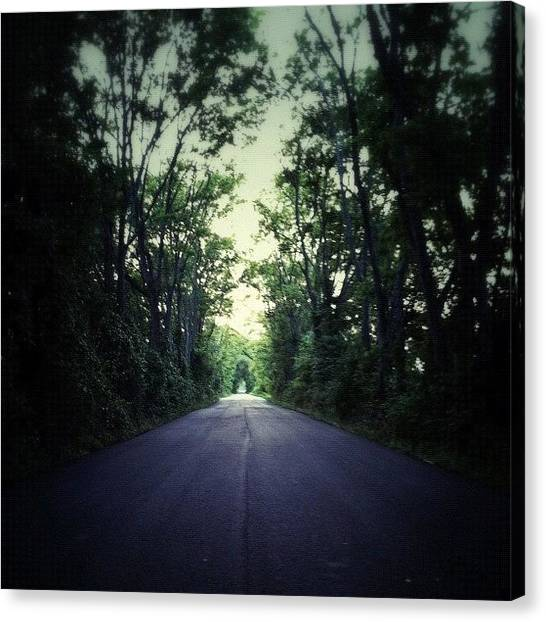 Virginia Canvas Print - Further On Up The #road by Rob Beasley