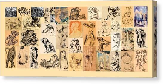 Galdi Works Canvas Print by Odon Czintos