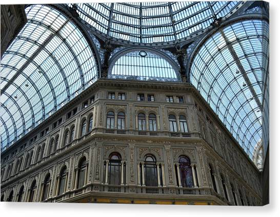 Galleria Umberto 1 Canvas Print by Terence Davis