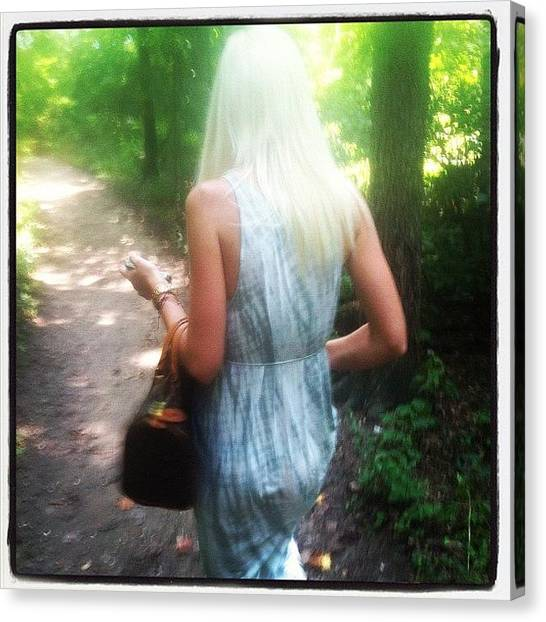 Fairies Canvas Print - #gameofthrones #fairy #woods by Kristin Hecker