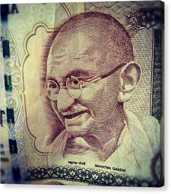 Indian Canvas Print - Gandhi by Parth Patel