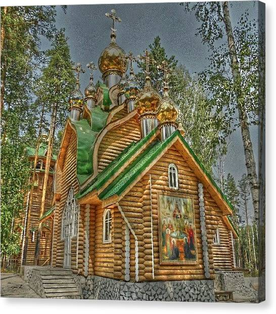 Russian Canvas Print - Ganina Yama. Chapel. #russia #sky by Igor Che 💎