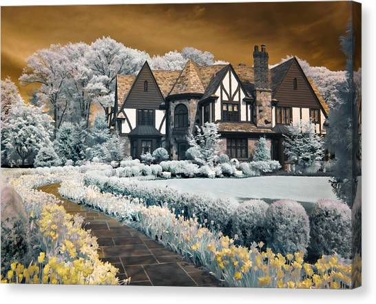 Garden City Tudor Canvas Print