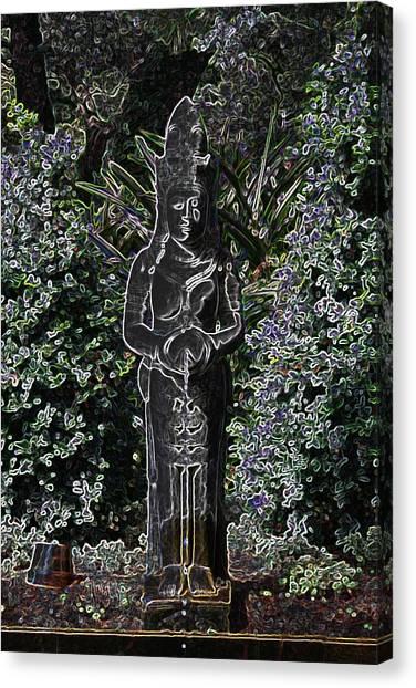 Garden Goddess Canvas Print
