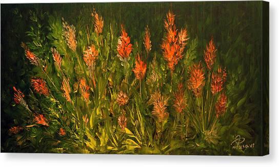 Garden Canvas Print by Mohsen Mousavi