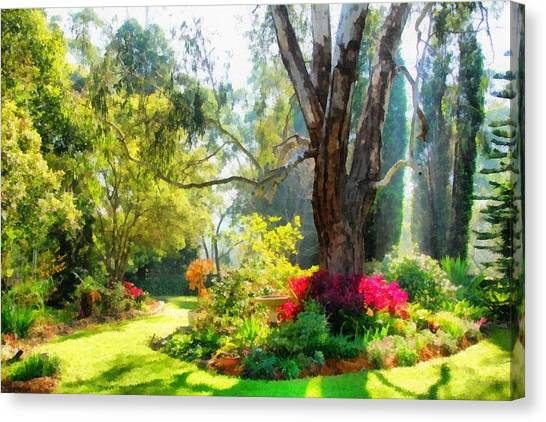 Garden Sunlight 2 Canvas Print