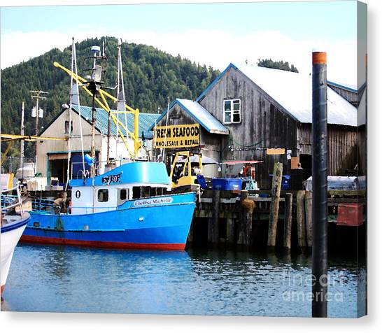 Garibaldi Marina Garibaldi Oregon Canvas Print