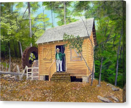 Garrison- Webb Mill  Sold Canvas Print