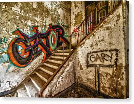 Gary Canvas Print by Dennis Sullivan