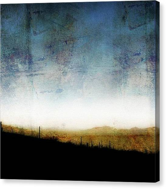 Big Sky Canvas Print - Gates Pass - On The Way To The Deser by Susan Libby