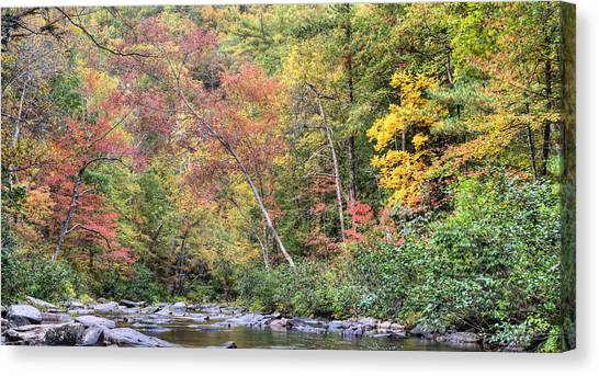 Gateway To Fall Canvas Print by JC Findley