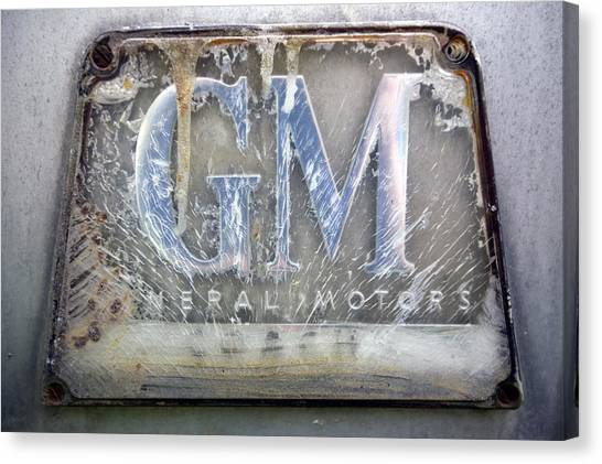 General Motors Canvas Print by Luc Novovitch