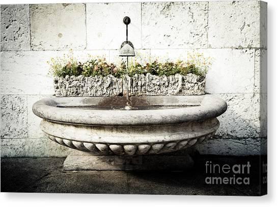 Geneva Fountain 2 Canvas Print