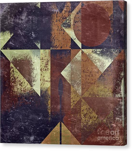 Abstract Canvas Print - Geomix 04 - 6ac8bv2t7c by Variance Collections