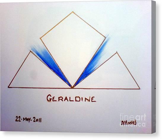 Geraldine Canvas Print