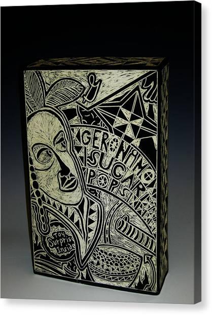 Geronimo Sugar Pops Canvas Print by Ken McCollum
