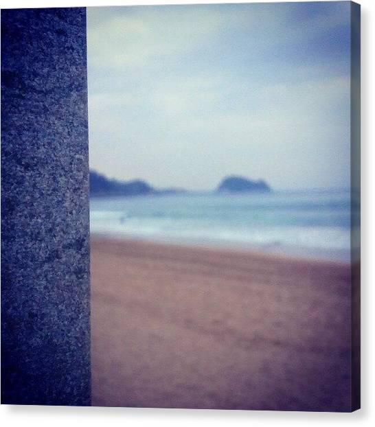 Mice Canvas Print - #getaria #mouse #stone #autumm #sand by Aitor Maria