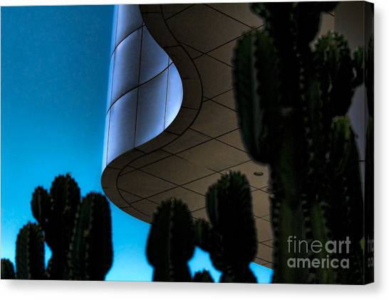 J Paul Getty Canvas Print - Getty Moods by Chuck Kuhn