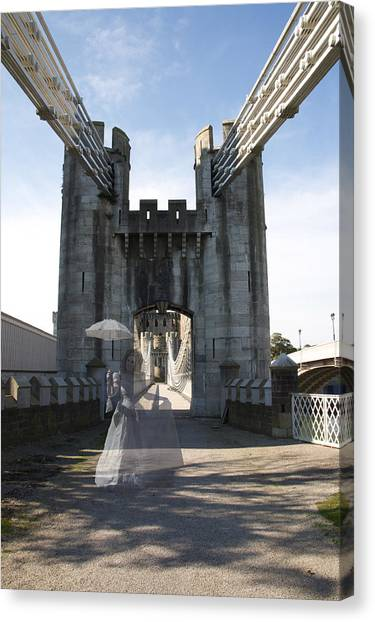 Ghost Bridge Canvas Print