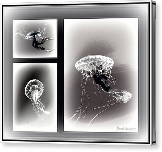 Ghostly Encounter Canvas Print