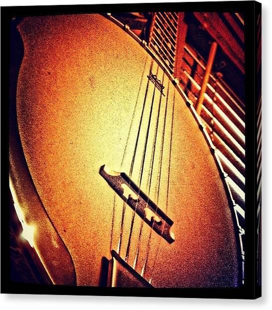 Banjos Canvas Print - #gibson #banjo #instagoodr #tweegram # by Mike Meissner