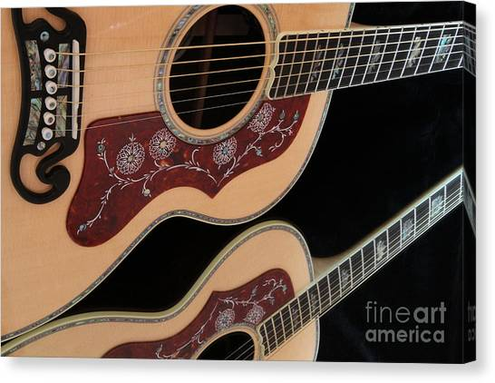 Gibson Sj200 Canvas Print
