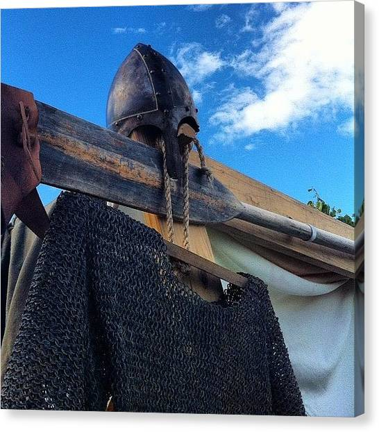 Soldiers Canvas Print - #gimli #vikings #iceland by Mark Lindal