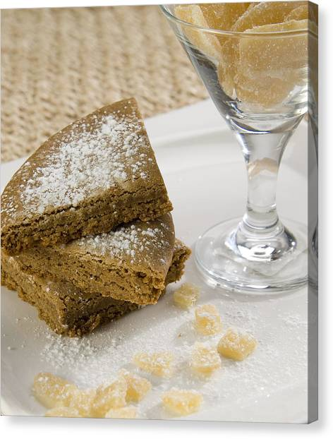 Ginger Snap Canvas Print - Ginger Snap Cookie by Rob Outwater
