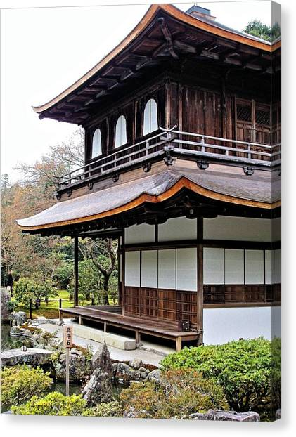Ginkakuji Temple Canvas Print