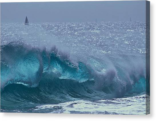 Glacial Blue Canvas Print