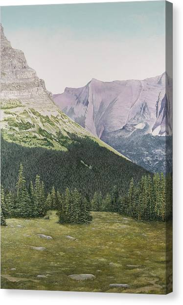 Glacier National Park Montana Canvas Print