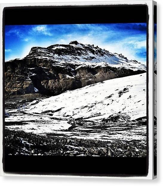 Glaciers Canvas Print - Glacier Point #glacier #snow #ice by Chris Barber