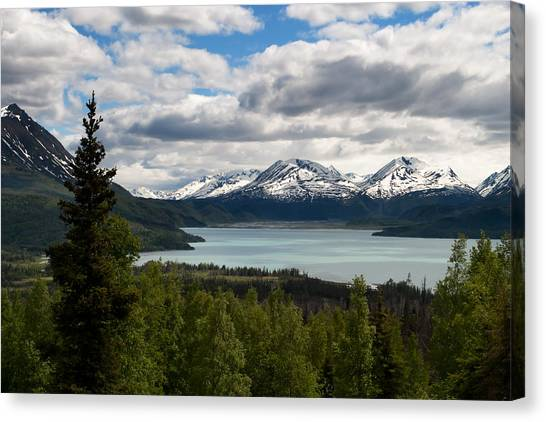 Glacier Water Canvas Print