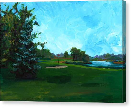 Glen Eagle Golf Course Canvas Print