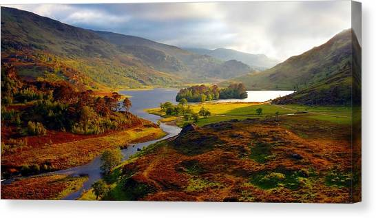 Glen Strathfarrar Canvas Print