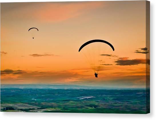 Gliders Canvas Print