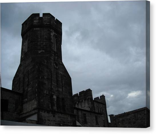 Gloom Turret Canvas Print