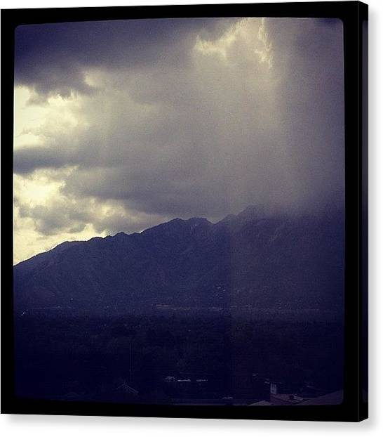 Salt Canvas Print - Gloomy Wednesday by Doug Smeath
