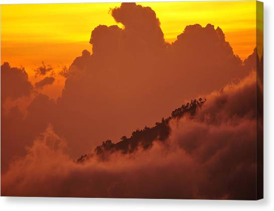 Glorious Sunrise Canvas Print