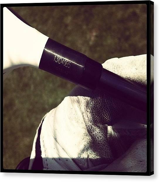 Golf Canvas Print - Glove #instagram #webstagram #instacool by Leon Urfali