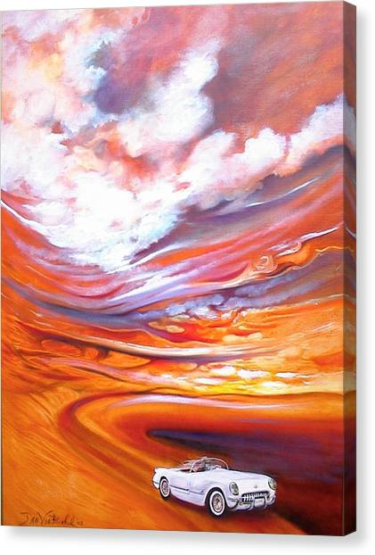 Corvette Heaven Canvas Print