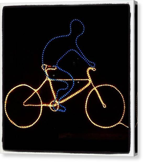Bicycle Canvas Print - Go Cycle #bicycle #cycle #graceland25 by A Rey