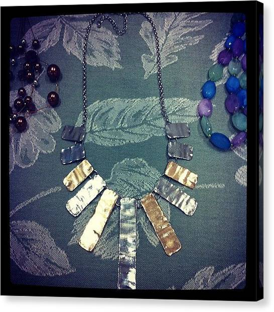 Jewelry Canvas Print - Go To Barkerandbailey.com $14 For The by Kristin Hecker