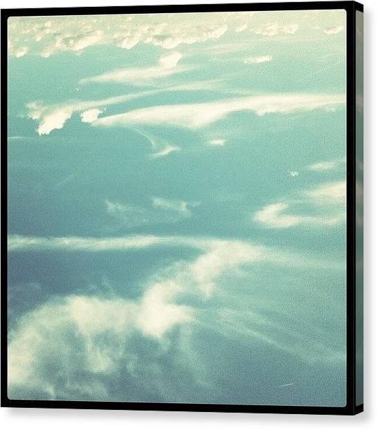 Traffic Canvas Print - God Being Creative #blown #cloudart by Thrfs