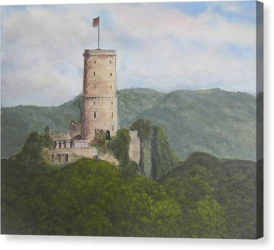 Godesburg Castle Canvas Print by Heather Matthews