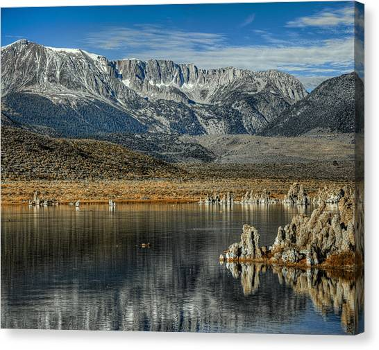 Gods Country Canvas Print by Stephen Campbell